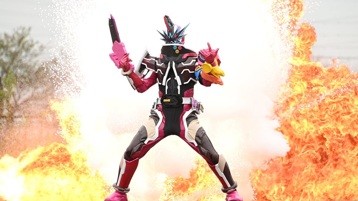 Kamen Rider Season 31 :Episode 9  Pile 'Em Up, The Timbre of a Swordsman
