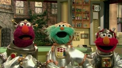 Sesame Street Season 41 :Episode 43  The Help-O-Bots