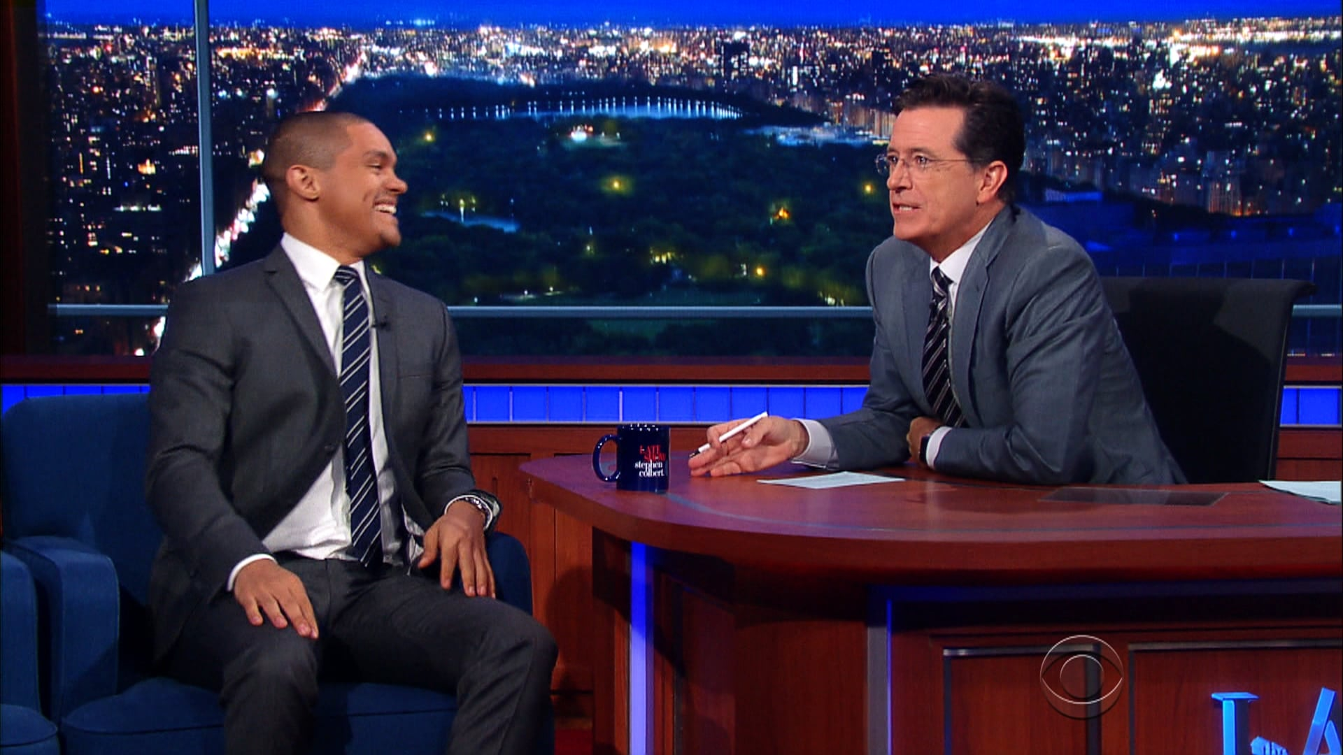 The Late Show with Stephen Colbert Season 1 :Episode 8  Trevor Noah, U.N. Ban Ki-Moon, Chris Stapleton
