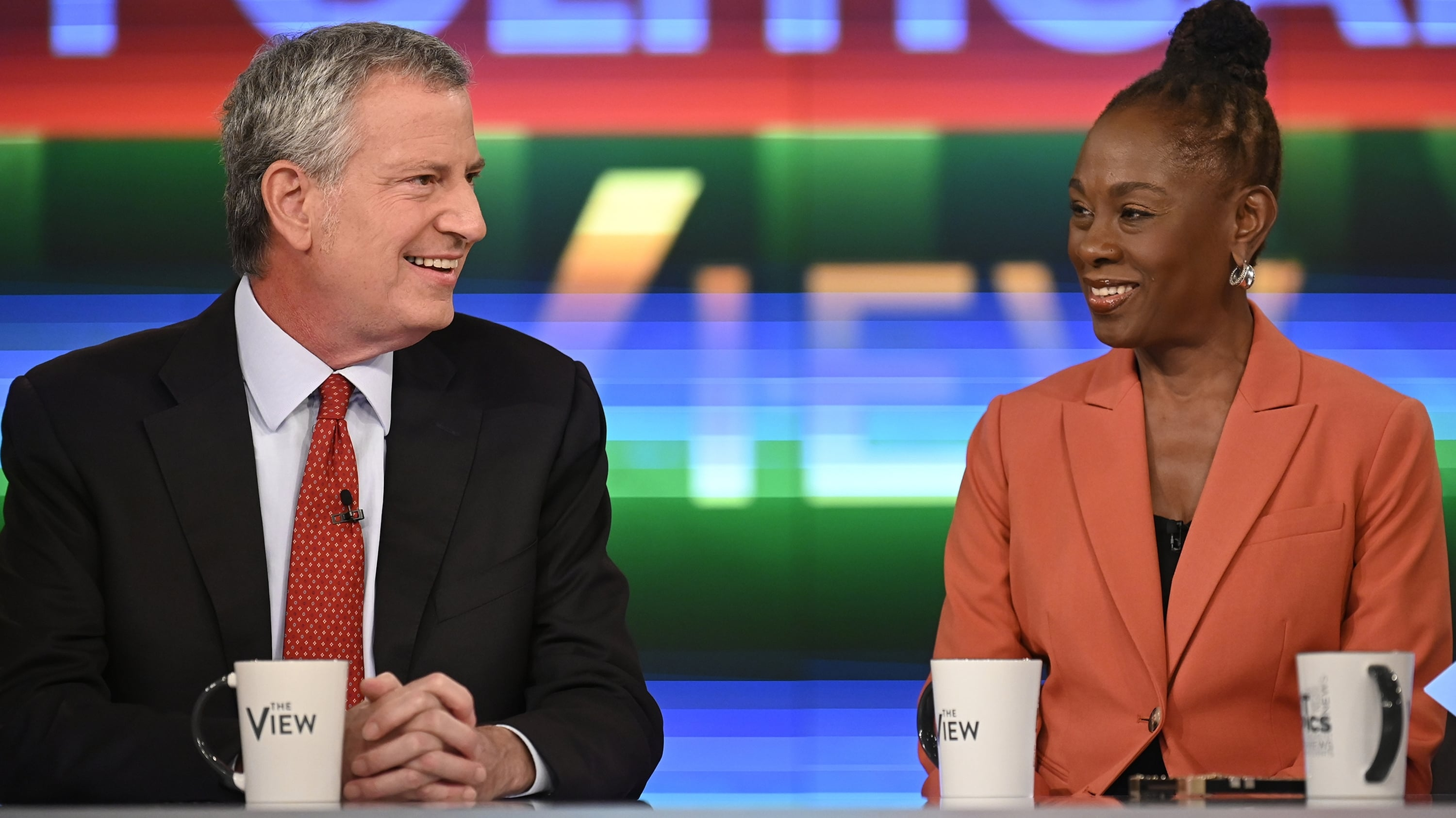 The View Season 22 :Episode 208  Bill de Blasio and Chirlane McCray
