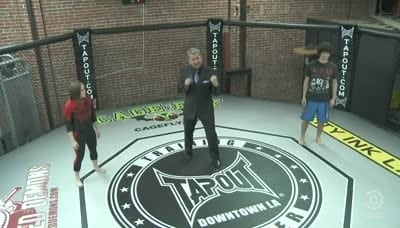 Tosh.0 Season 4 :Episode 8  MMA Girl Chokes Out Guy (Rematch)