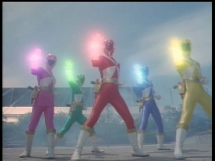 Super Sentai Season 23 :Episode 22  The Dark King's Last Decisive Battle!