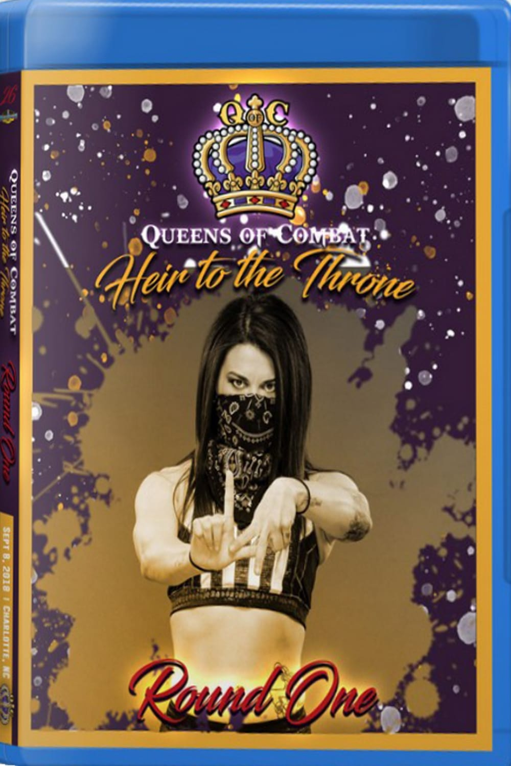 Queens Of Combat QOC 26 Heir To The Throne (2018)