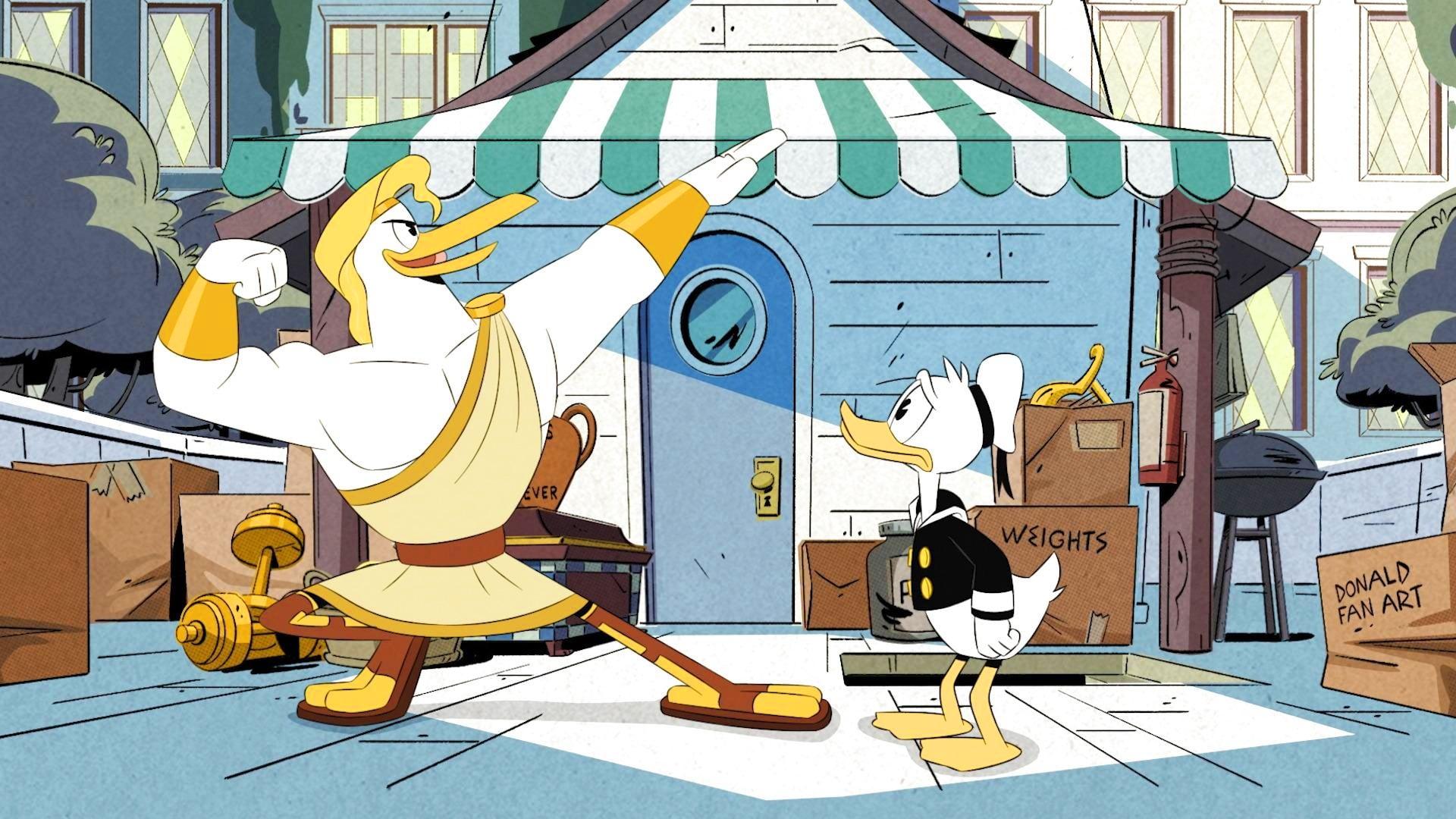DuckTales Season 2 :Episode 5  Storkules in Duckburg!
