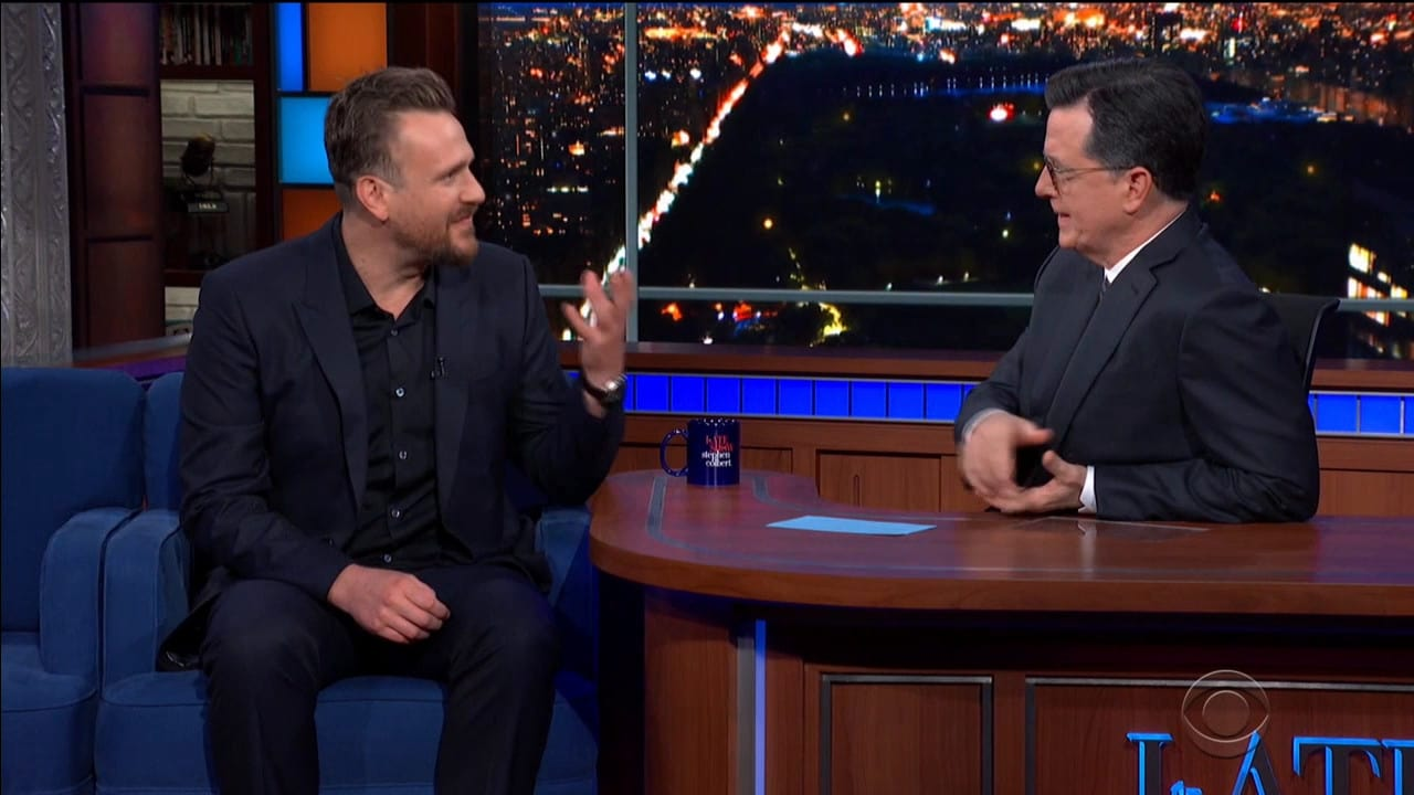 The Late Show with Stephen Colbert Season 5 :Episode 93  Jason Segel / Charlotte Alter
