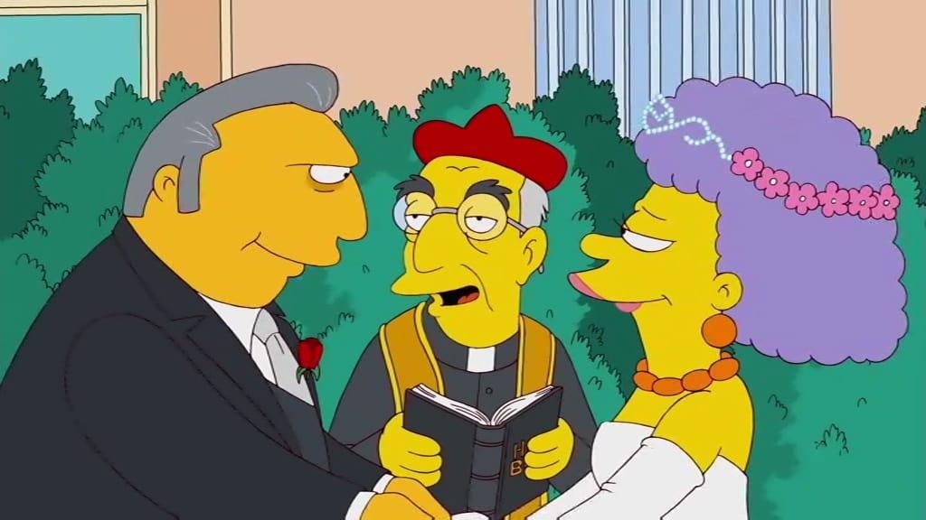 Die Simpsons Season 22 :Episode 19  Die Mafiosi-Braut