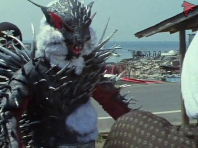 Kamen Rider Season 1 :Episode 62  Monster Hedgehoras' Murder Skull Plan