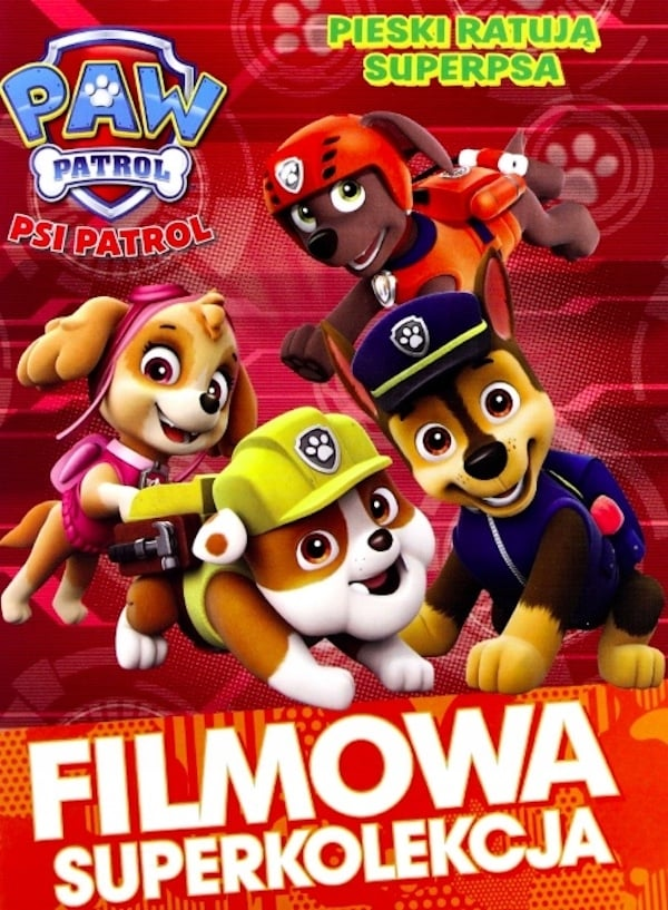 Paw Patrol. Dogs save the Super dog