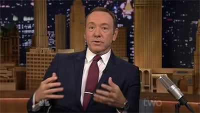 The Tonight Show Starring Jimmy Fallon Season 1 :Episode 50  Kevin Spacey, Lewis Black
