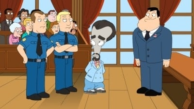 American Dad! Season 7 :Episode 7  The People vs. Martin Sugar