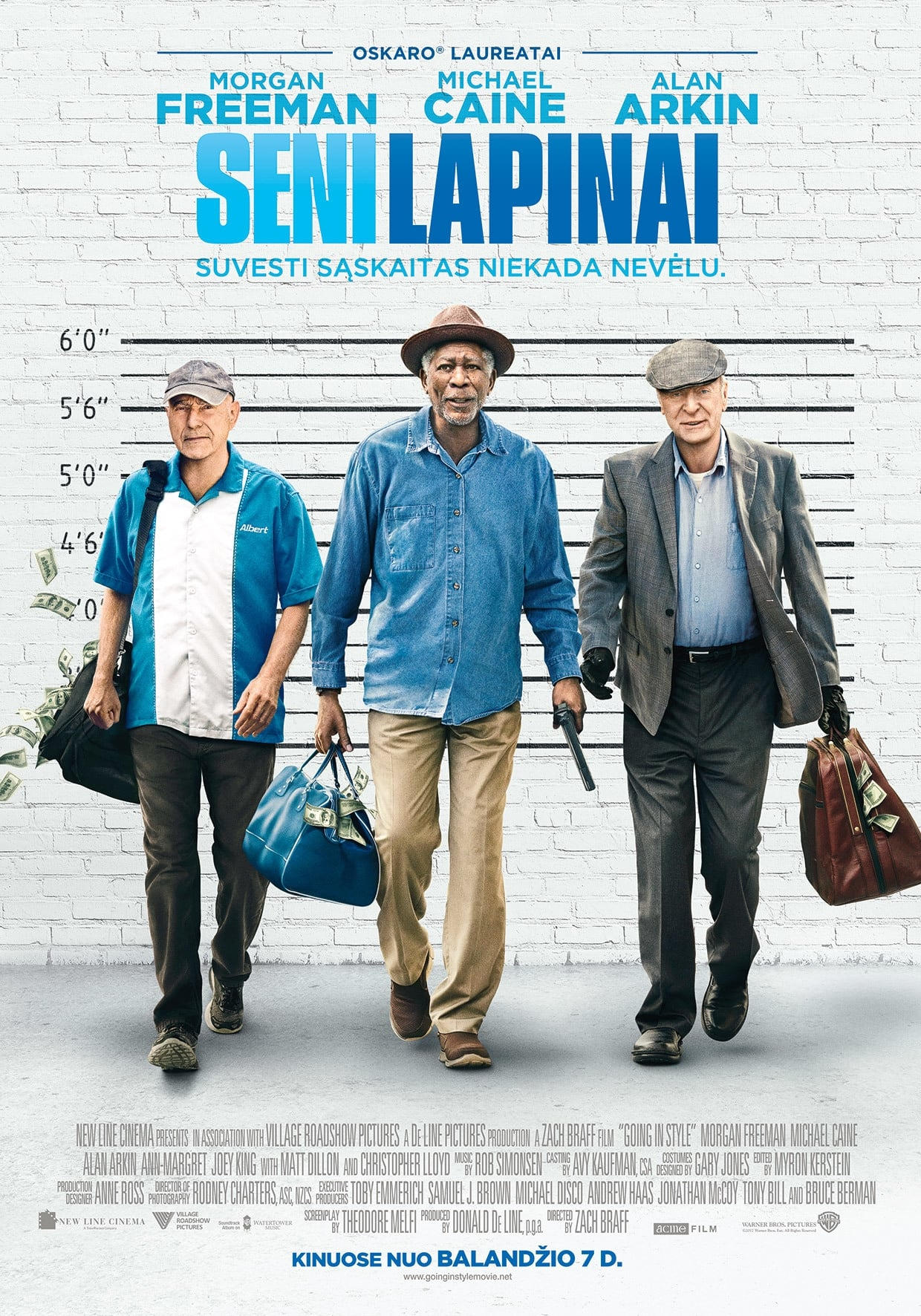 Seni lapinai / Going in Style (2017)
