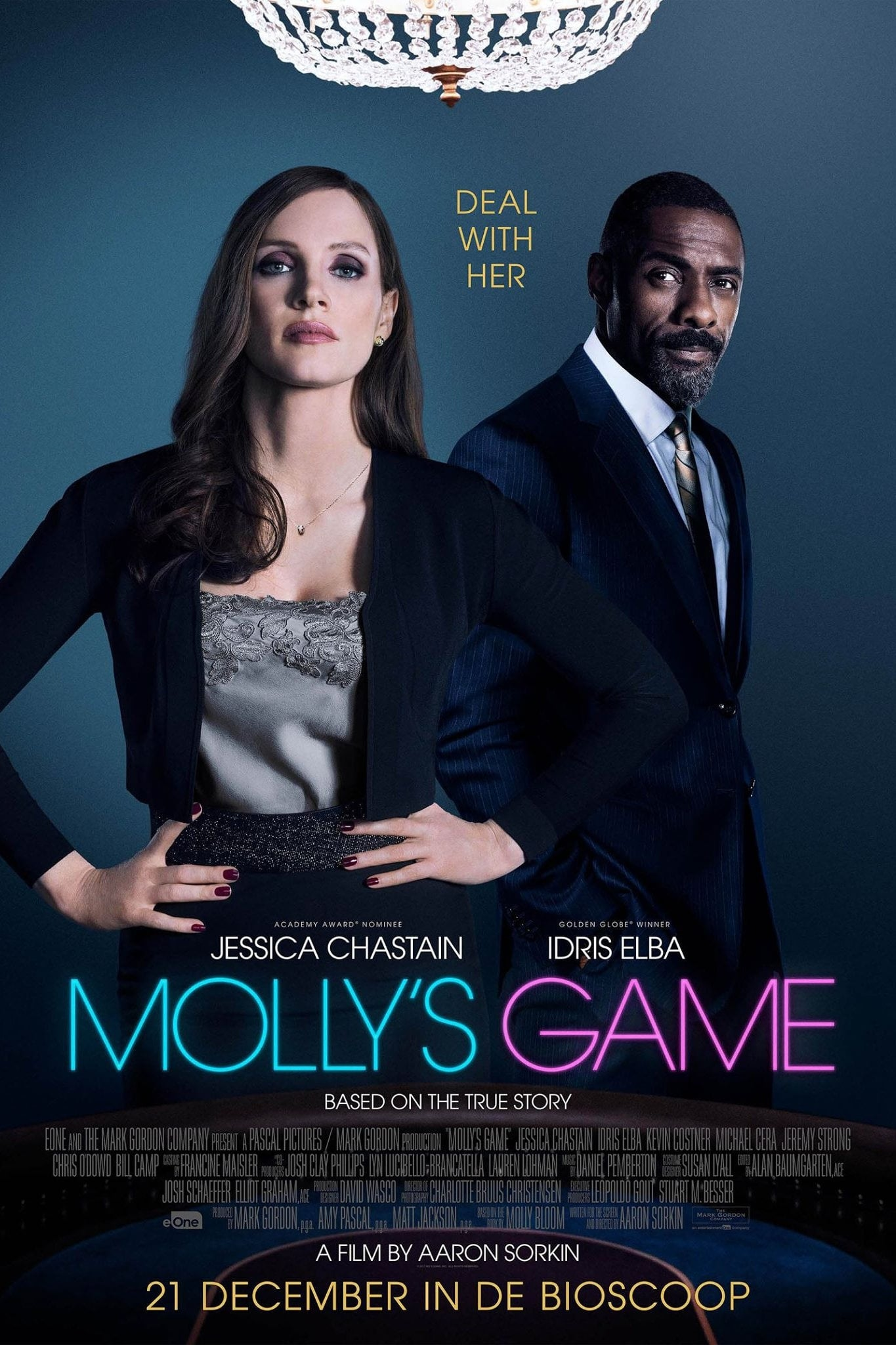 Poster and image movie Film Jocuri secrete - Molly's Game - Molly's Game - Molly's Game -  2017