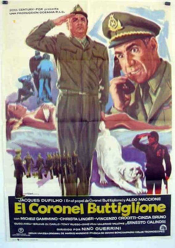 Ver Un ufficiale non si arrende mai nemmeno di fronte all'evidenza, firmato Colonnello Buttiglione Online HD Español ()