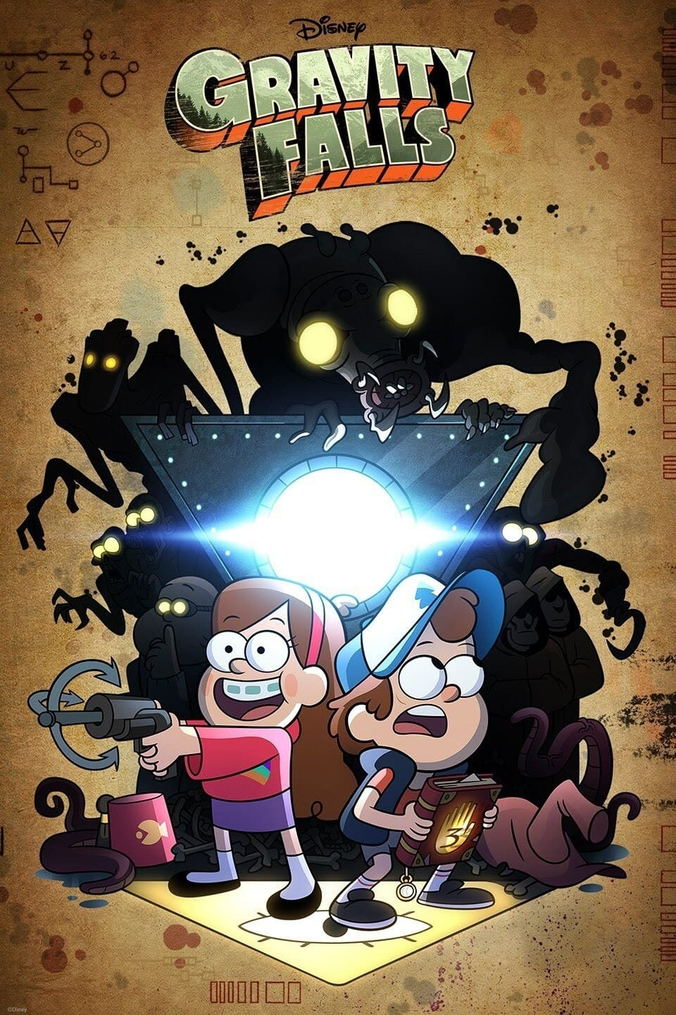 Gravity Falls TV Shows About Symbolism