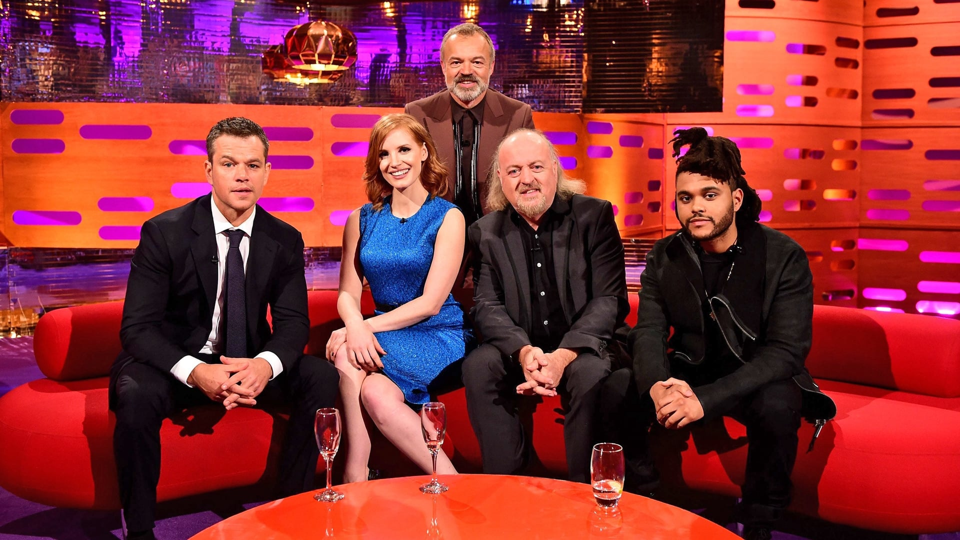 The Graham Norton Show Season 18 :Episode 1  Matt Damon, Jessica Chastain, Marion Cotillard, Bill Bailey, The Weeknd