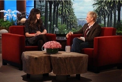 The Ellen DeGeneres Show Season 9 :Episode 19  Zooey Deschanel, Ricki Lake & Derek Hough