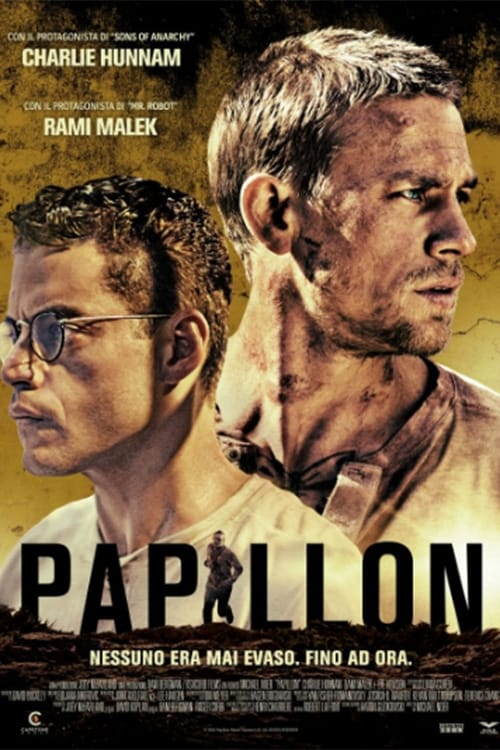 Poster and image movie Film Papillon - Papillon 2018