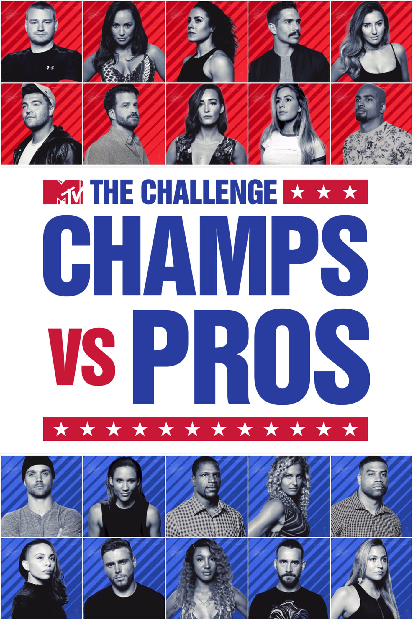 The Challenge: Champs vs. Pros