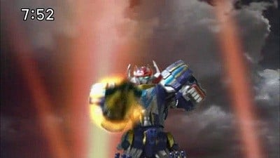 Super Sentai Season 35 :Episode 18  Big Rampage with a Dinosaur Robot Drill