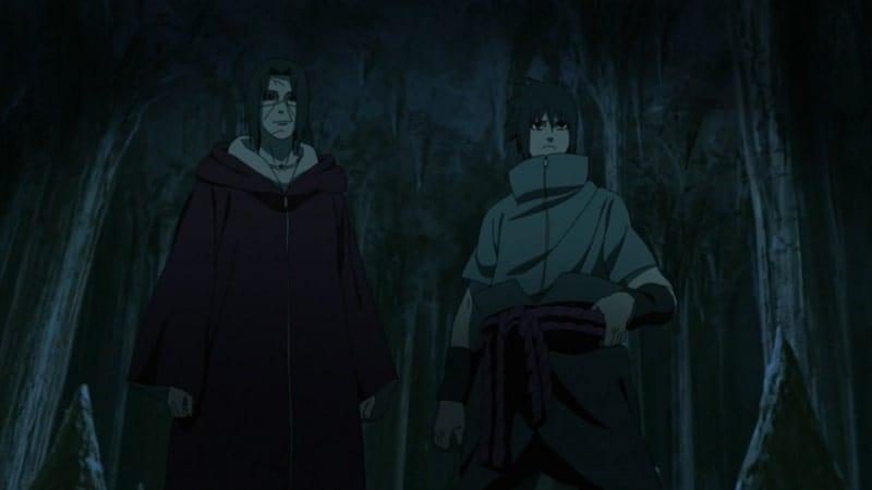 Naruto Shippūden Season 15 :Episode 334  Sibling Tag Team