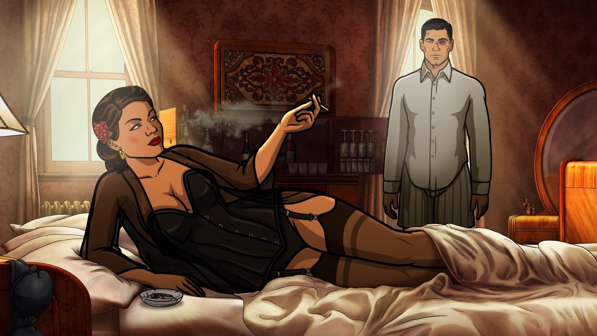 Archer Season 8 :Episode 5  Sleepers Wake