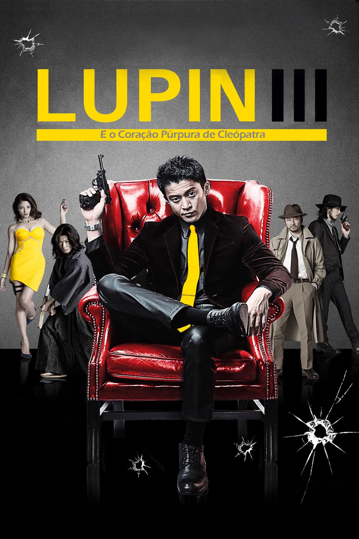 assistir filme lupin 3: e o coração púrpura de cleópatra