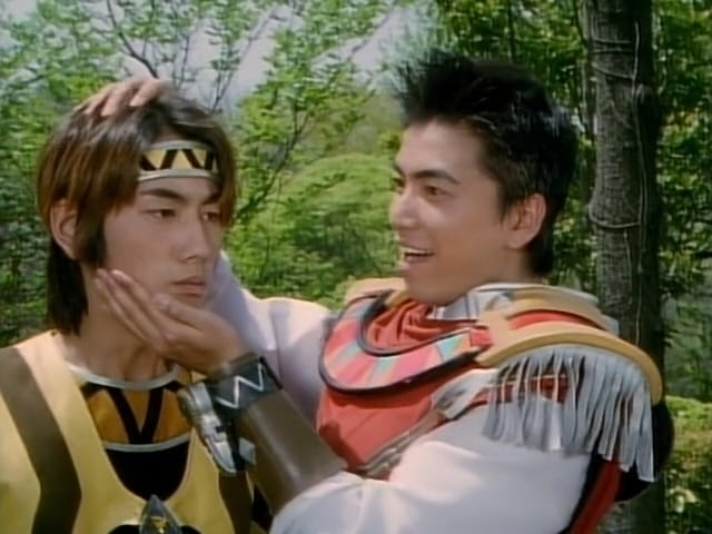 Super Sentai Season 22 :Episode 15  The Hiccups of Terror