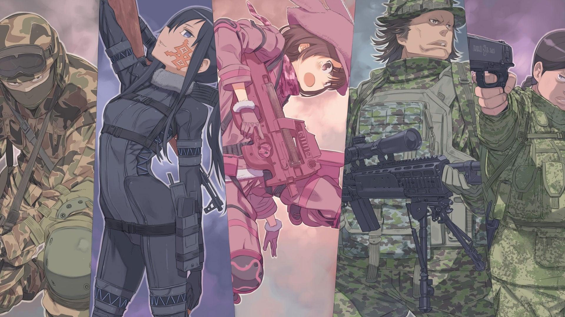 Sword Art Online Alternative Gun Gale Online Tv Series 2018 2018