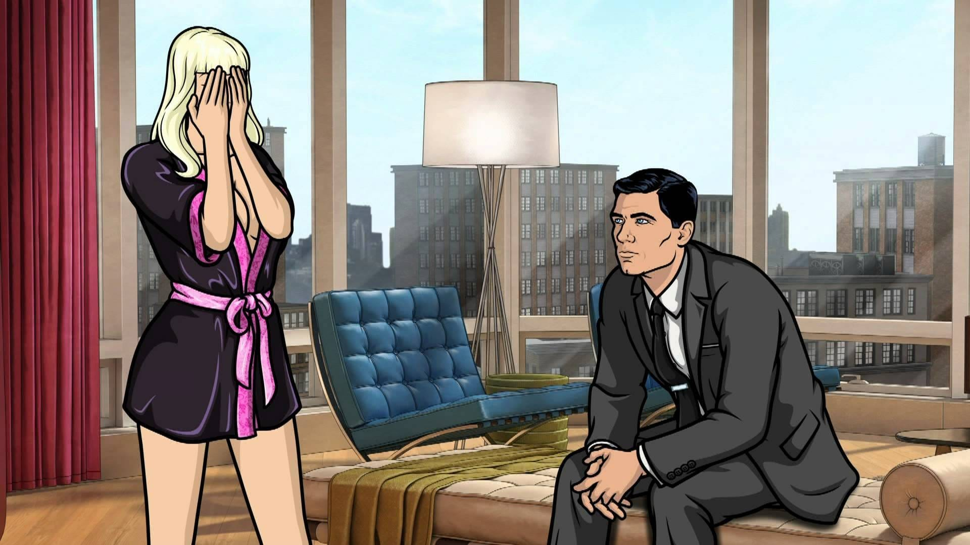 Archer Season 4 :Episode 5  Viscous Coupling