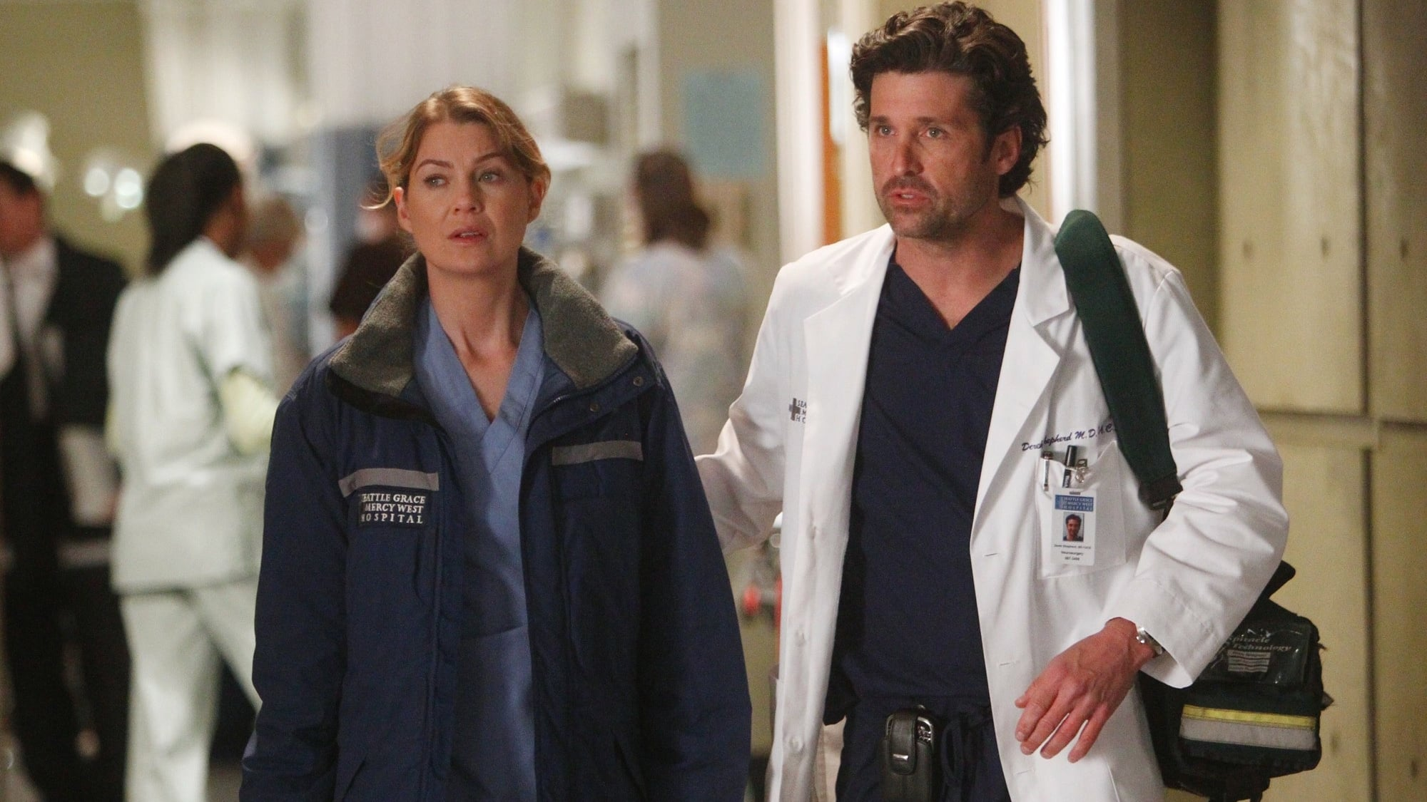 Grey's Anatomy Season 8 :Episode 9  Dunkel war die Nacht