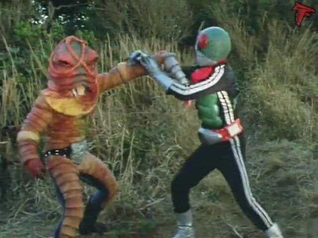 Kamen Rider Season 1 :Episode 59  The Bottomless Swamp Monster, Earthworm Man!