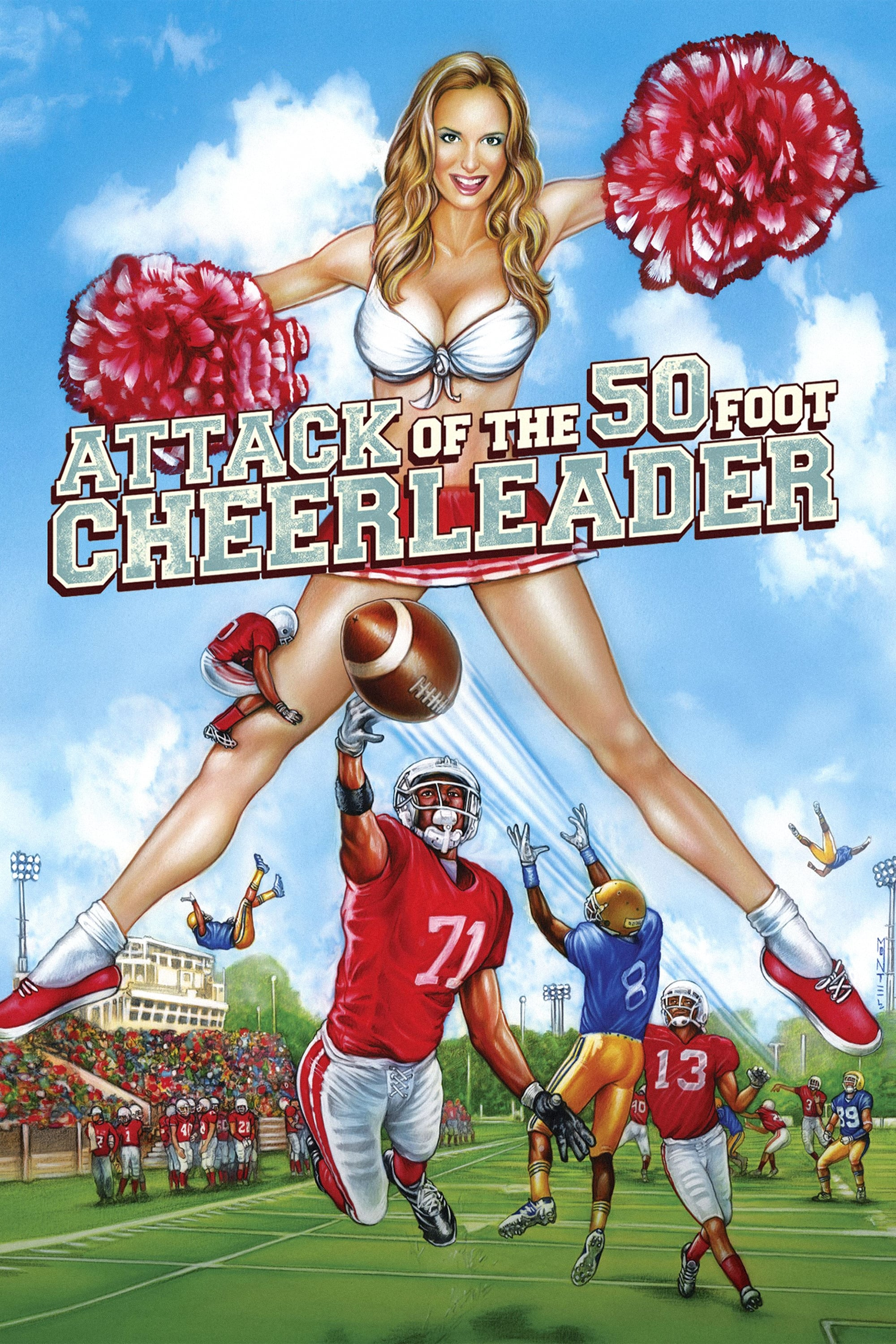 Attack of the 50 Foot Cheerleader on FREECABLE TV