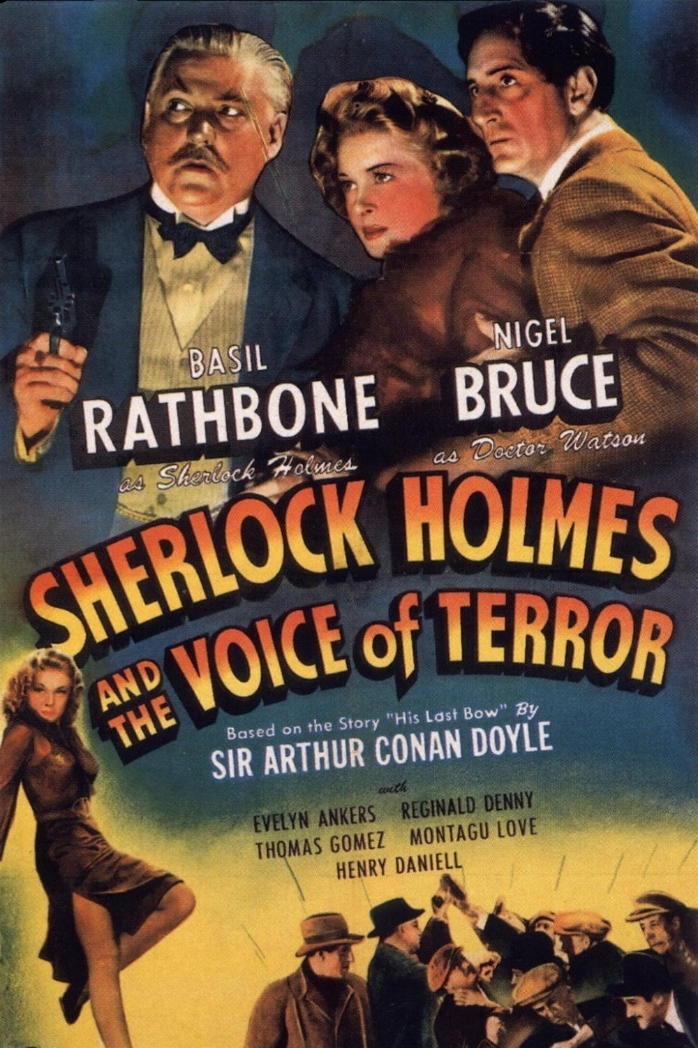 Sherlock Holmes and the Voice of Terror (1942)