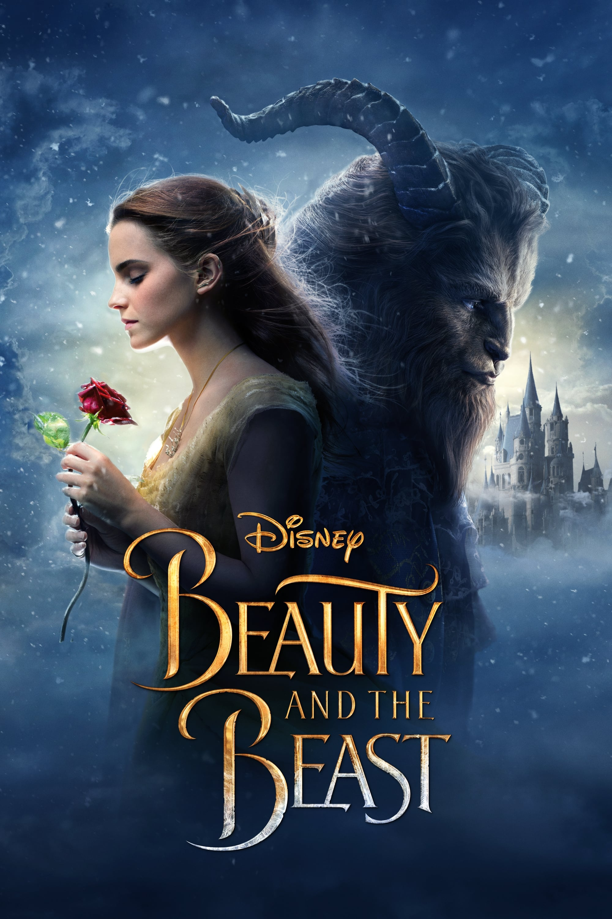 Bildergebnis für beauty and the beast 2017 poster