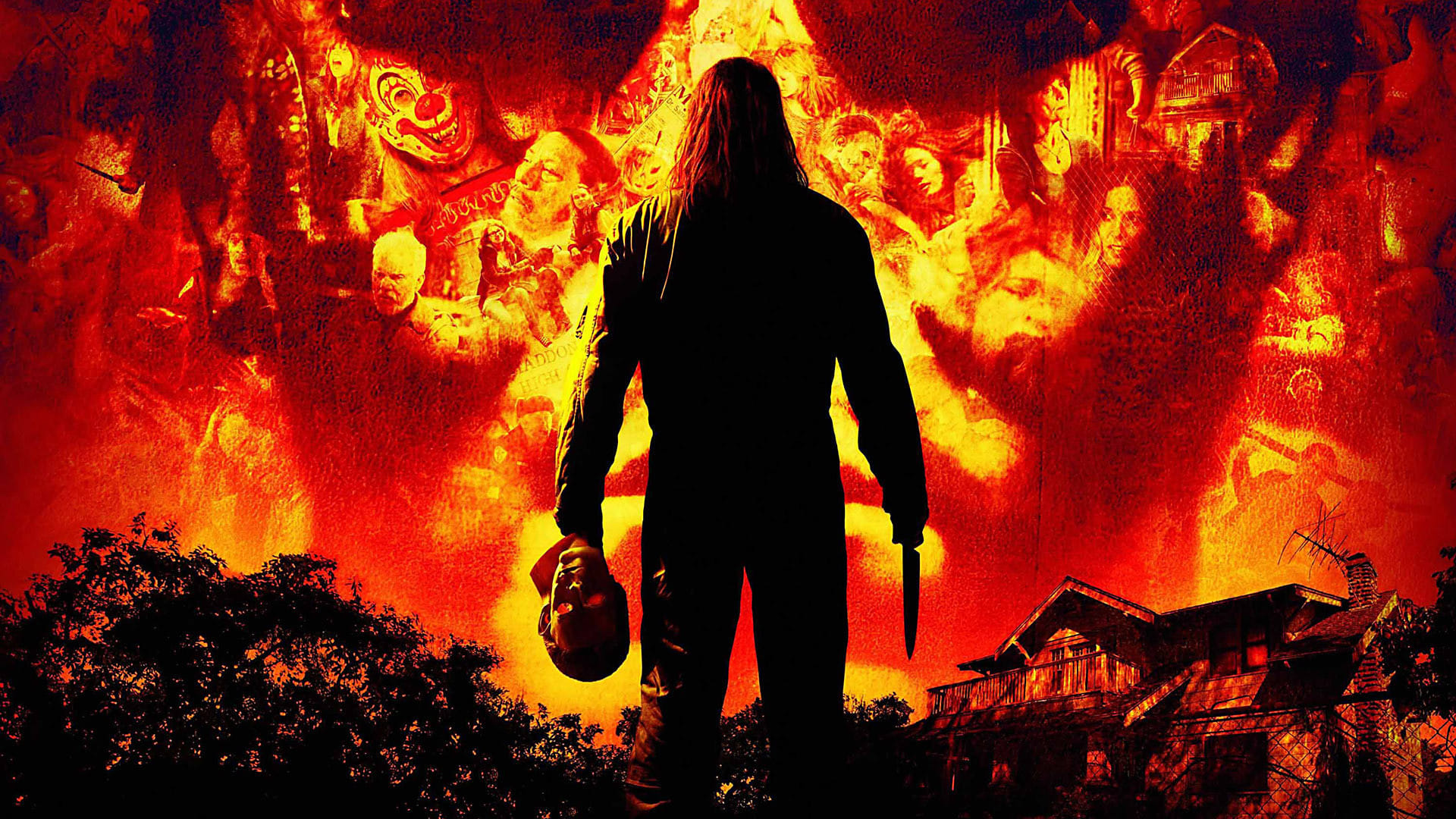 Halloween (Rob Zombie Series) Collection (2007-2009) - Backdrops ...