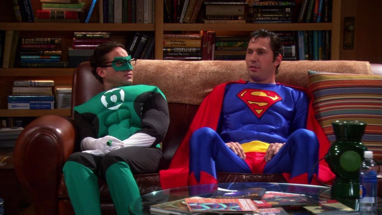 The Big Bang Theory Season 4 :Episode 11  The Justice League Recombination