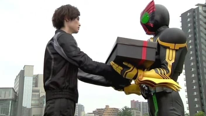 Kamen Rider Season 21 :Episode 2  Greed, Ice Candy, Present
