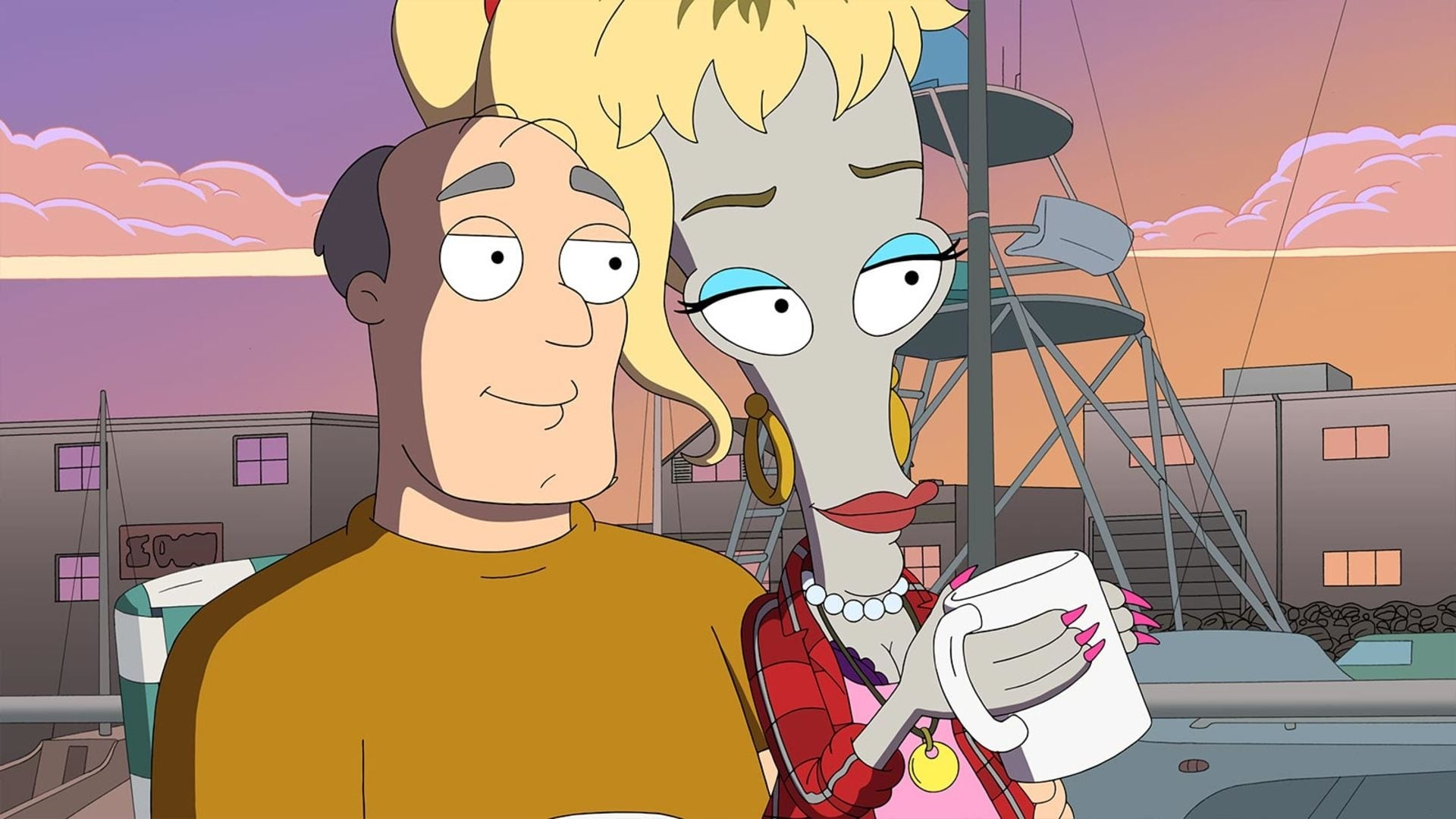 American Dad! Season 17 :Episode 17  Roger Needs Dick