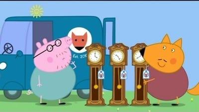 Peppa Pig Season 3 :Episode 43  Mr Fox's Van