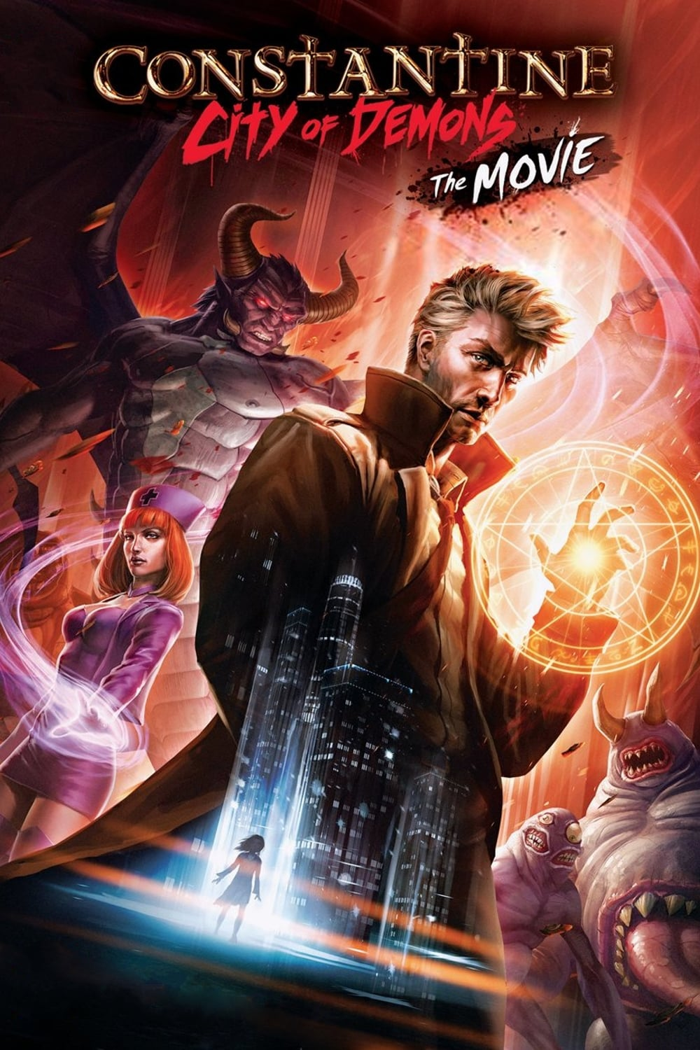 voir film Constantine : City of Demons streaming