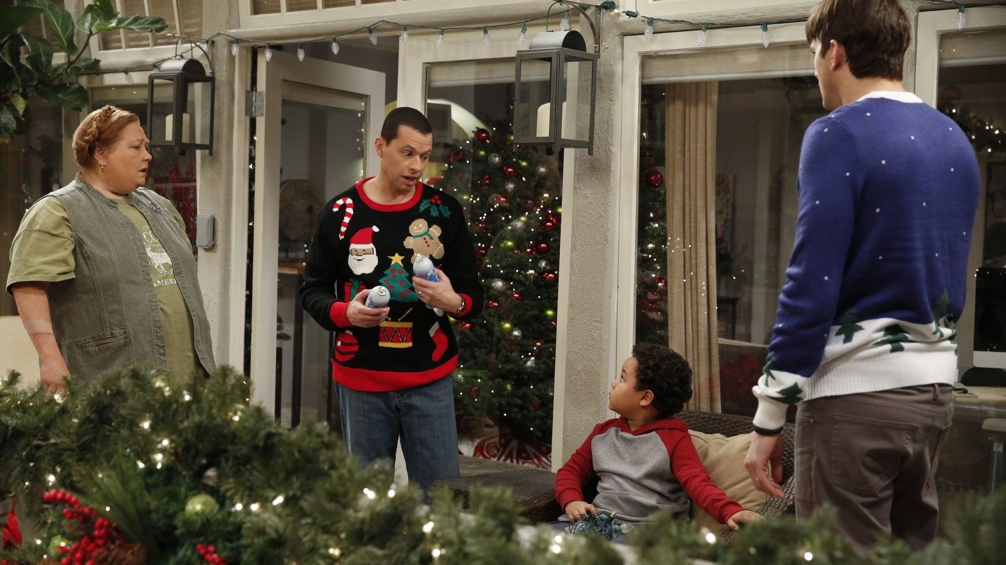 Two and a Half Men Season 12 :Episode 8  Hier kommt der Weihnachtsmann