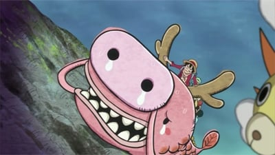 One Piece Season 18 :Episode 753  A Deadly Elephant Climb - A Great Adventure on the Back of the Giant Elephant!