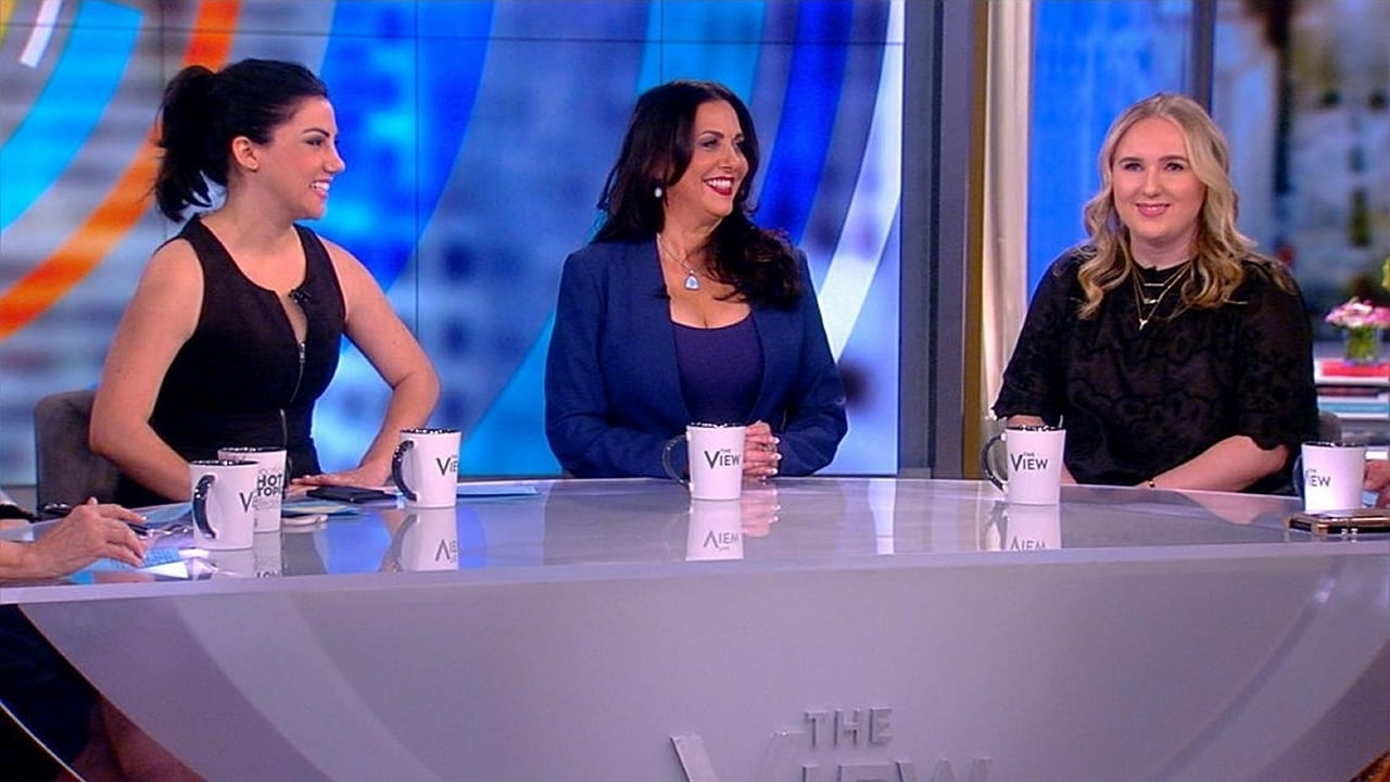 The View Season 22 :Episode 117  Rayka Zehtabchi, Melissa Berton and Claire Sliney
