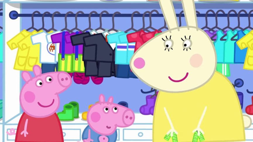 Peppa Pig Season 5 :Episode 47  George's New Clothes