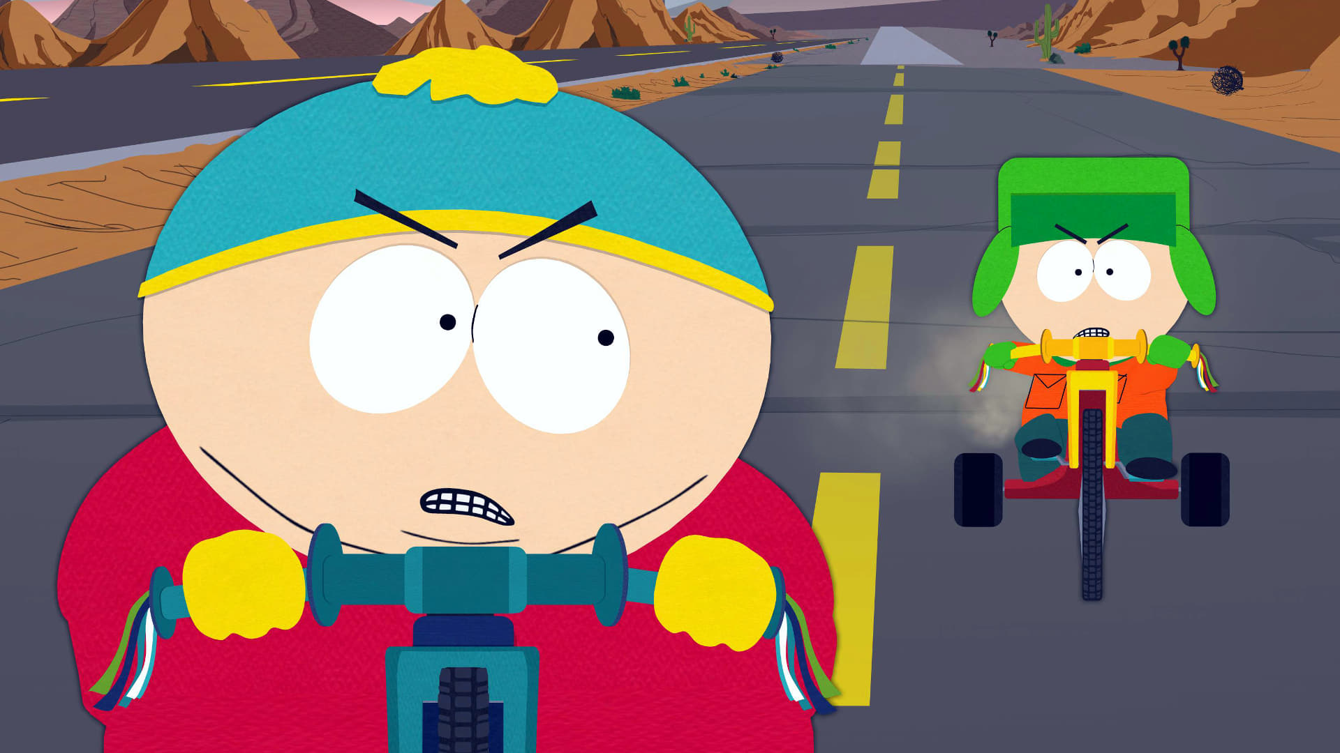 South Park Season 10 :Episode 3  Cartoon Wars Part I