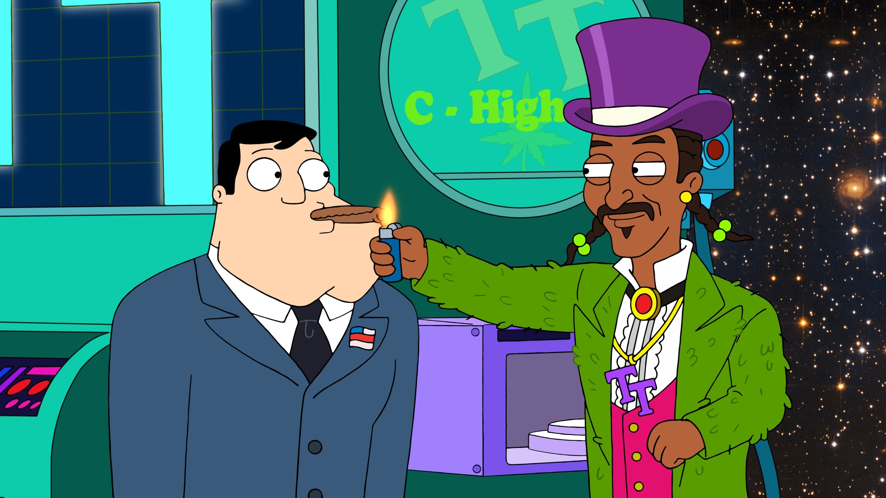 American Dad! Season 16 :Episode 5  Jeff and the Dank Ass Weed Factory