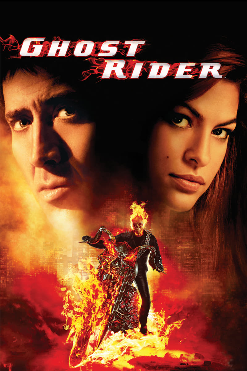 ghost rider 2007 posters the movie database tmdb. Black Bedroom Furniture Sets. Home Design Ideas