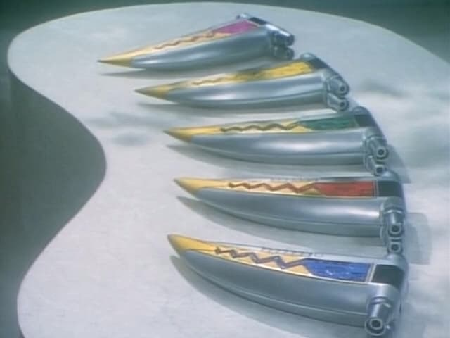 Super Sentai Season 22 :Episode 5  The Deadly Kiba Blades