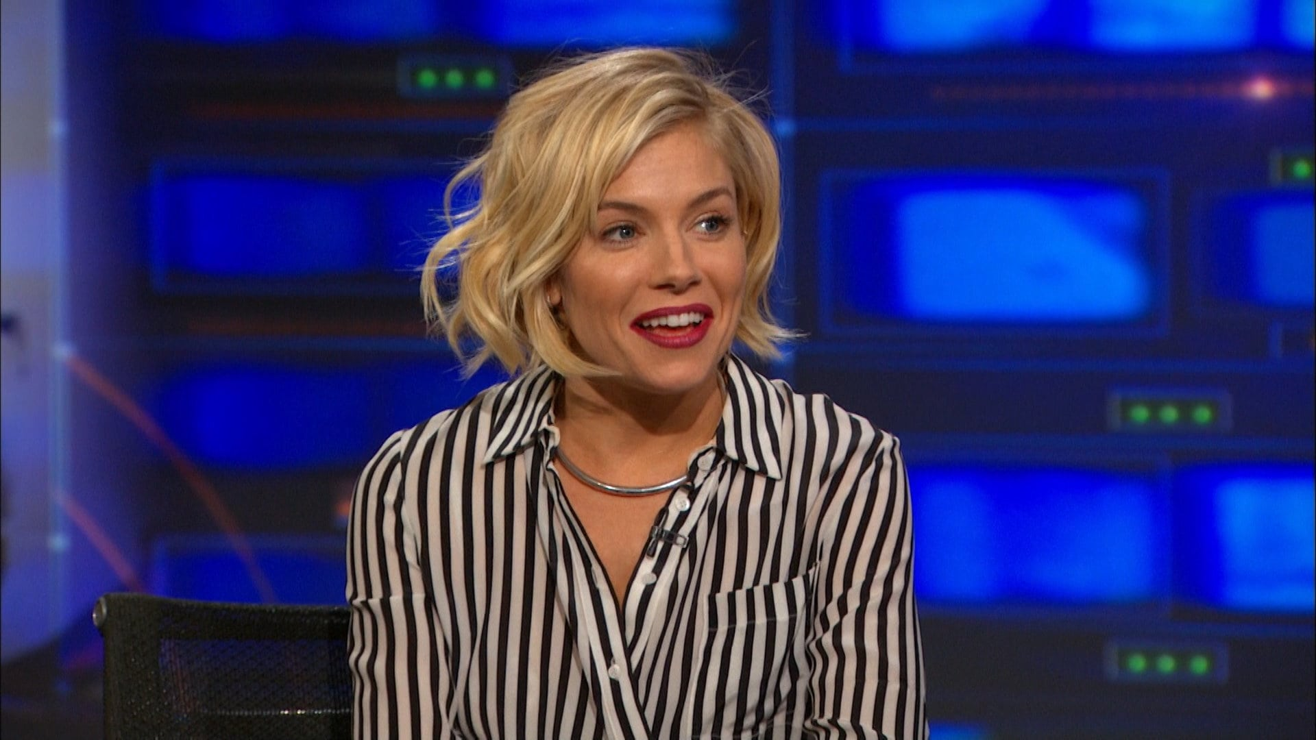 The Daily Show with Trevor Noah Season 20 :Episode 48  Sienna Miller