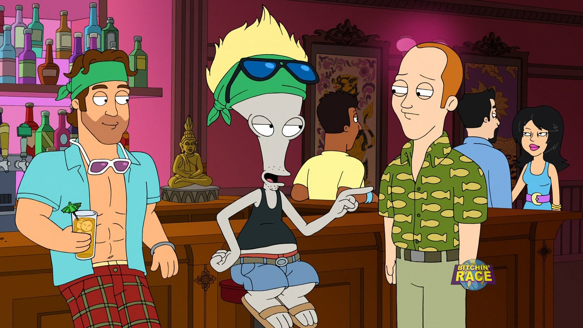 American Dad! Season 14 :Episode 16  The Bitchin' Race